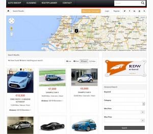 voorbeeld website autobedrijf image