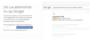 google addword pagina informatie