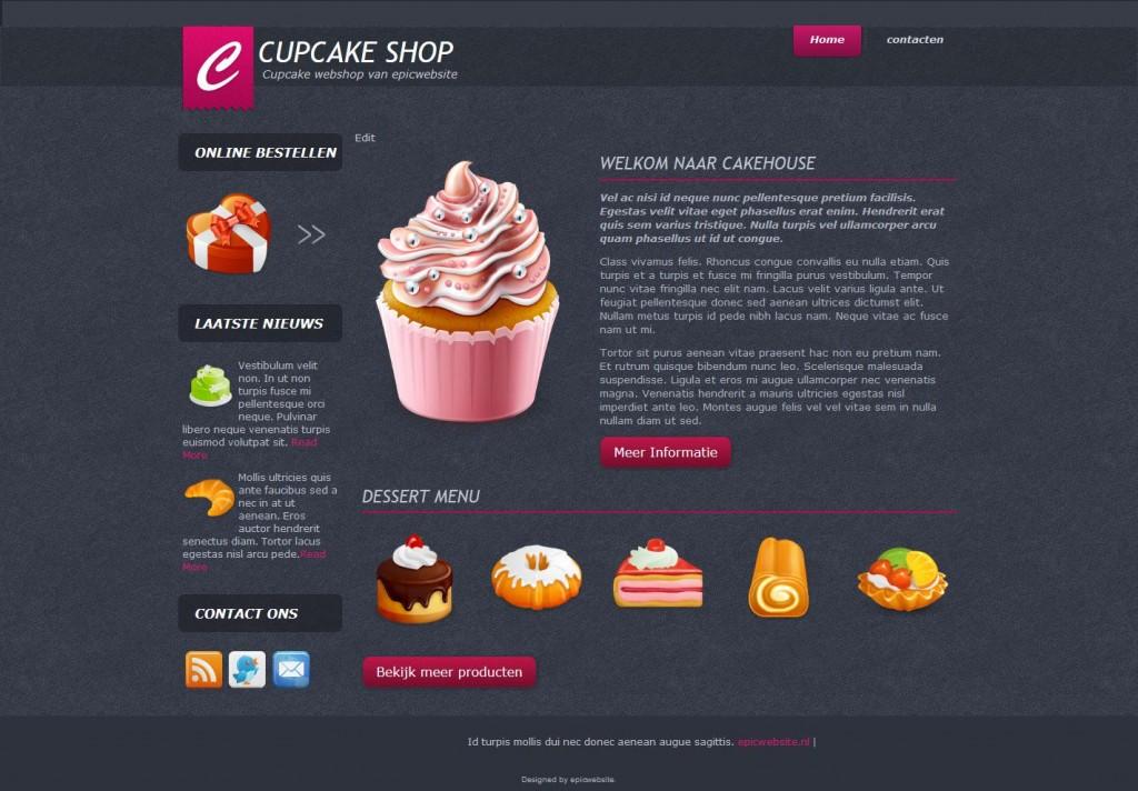 Eigen Cupcake Webwinkel beginnen