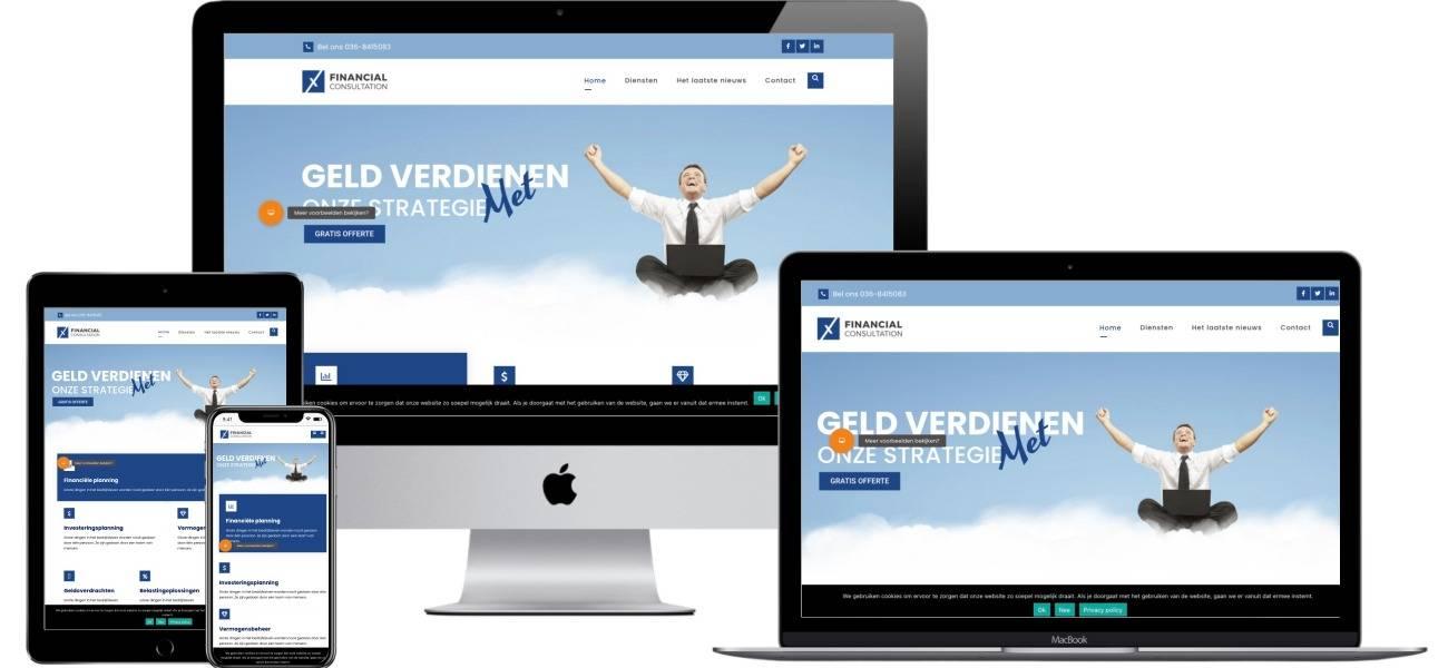 Een mooie website ontwikkelen