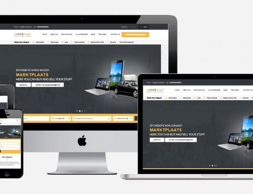 Marktplaats website laten maken