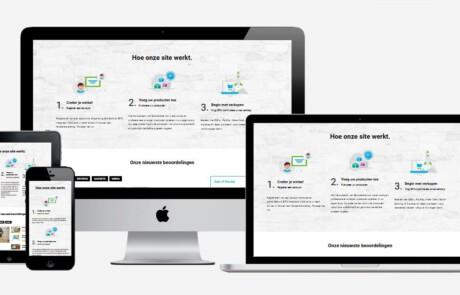wordpress marktplaats site maken
