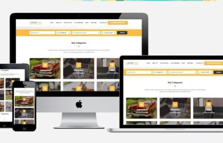 wordpress marktplaats site starten
