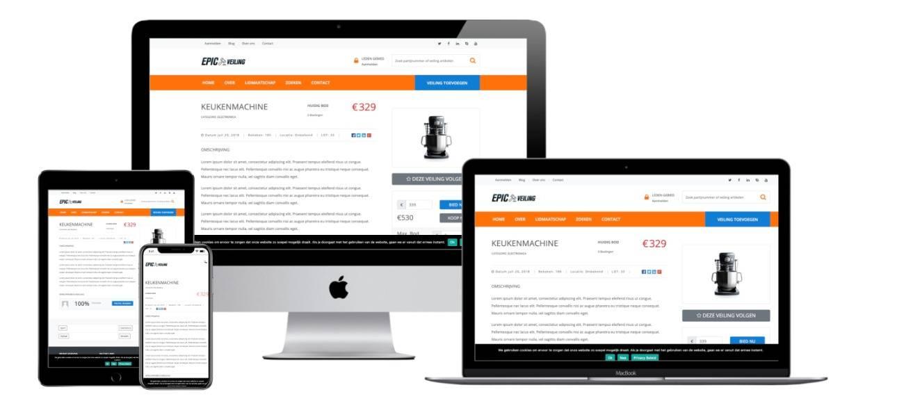 veiling-website-laten-maken