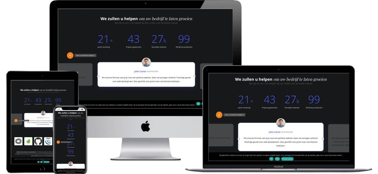 Professionele website laten maken alleen bij Epicwebsite