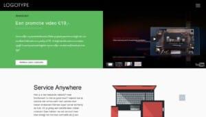 Een foto van wordpress website laten maken product