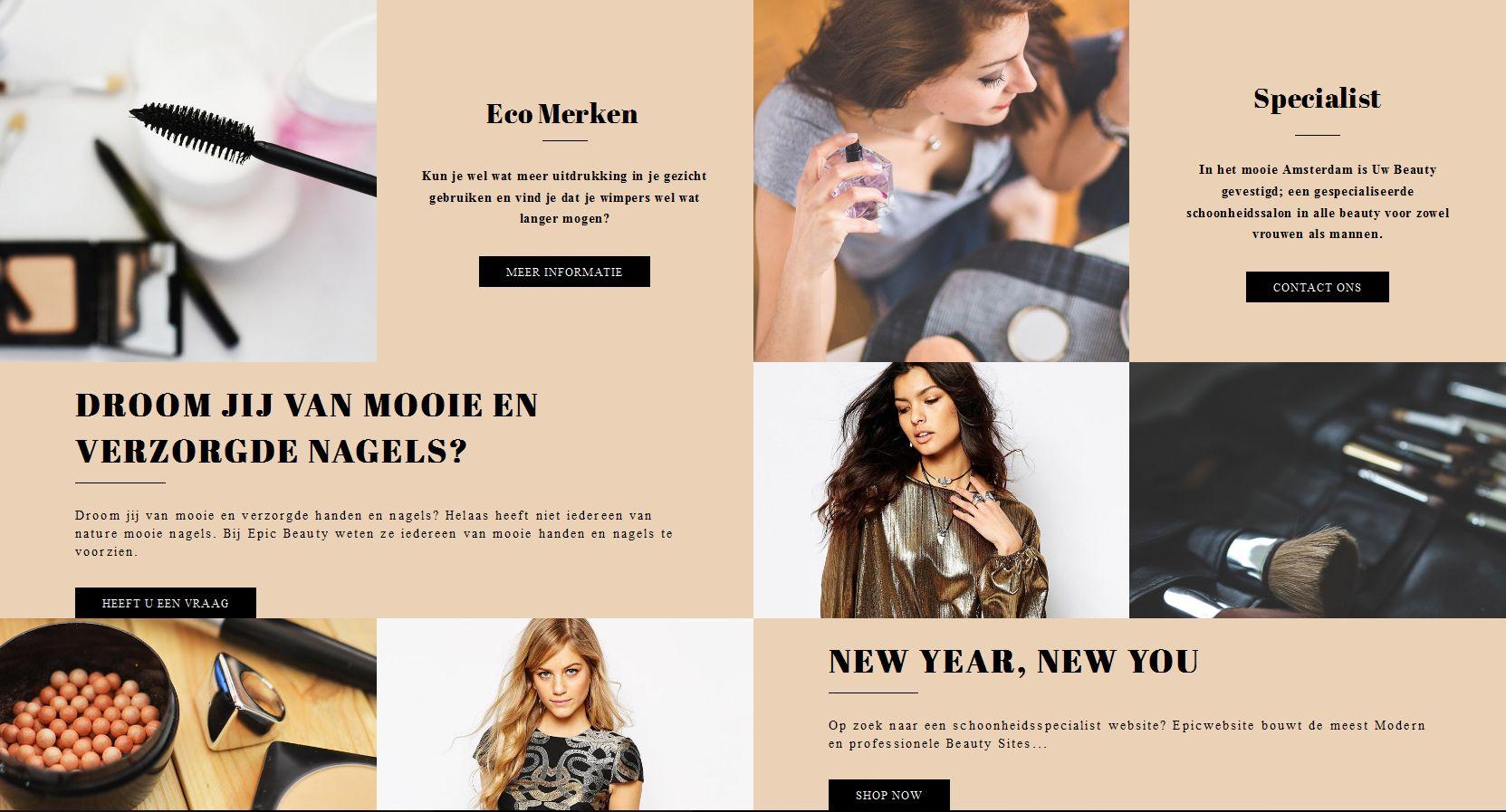 webshop laten maken voor kleding winkelbshop