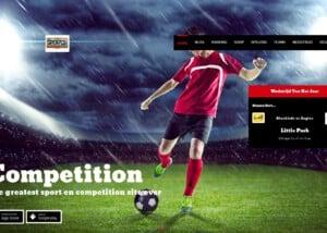dit is een foto van de Sport en wedstrijden site laten maken post