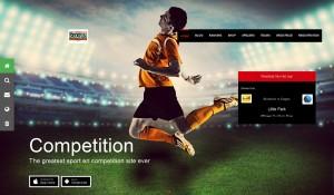 een website voor de Een voetbalclub laten maken foto