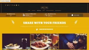 Een restaurant website laten maken foto