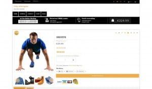 dit is een foto van de kleding webshop beginnen