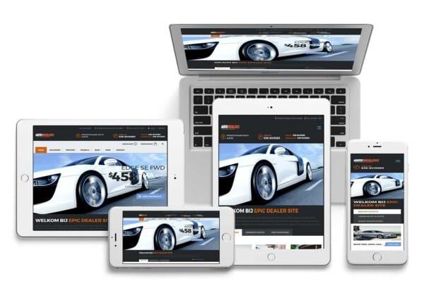 Een foto van Autodealer website laten maken