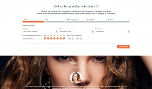 kappers website laten bouwen met boeking systeem