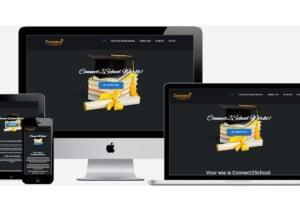 Wordpress website laten maken voor Connect2school.nl
