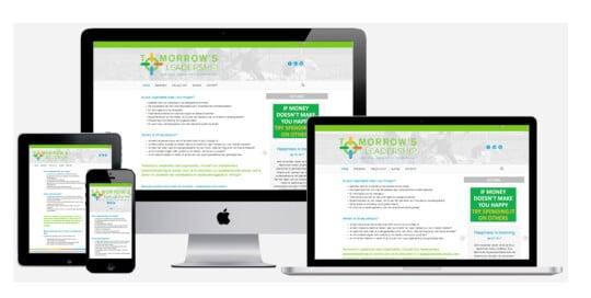 Zakelijke website maken voor tomorrowsleadership.nl