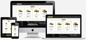 taxi website maken