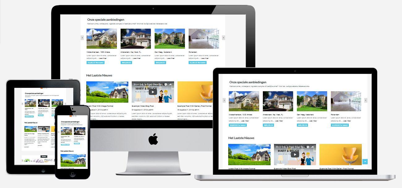 Wordpress Makelaars Website Laten Maken