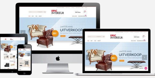 interieur webshop laten maken