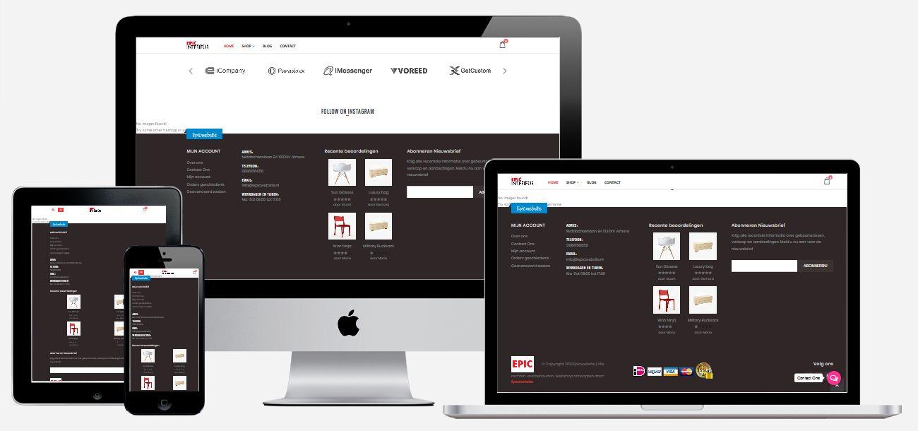 interieur webshop laten maken goedkoop