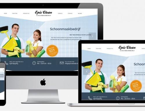 Website Maken Schoonmaakbedrijf
