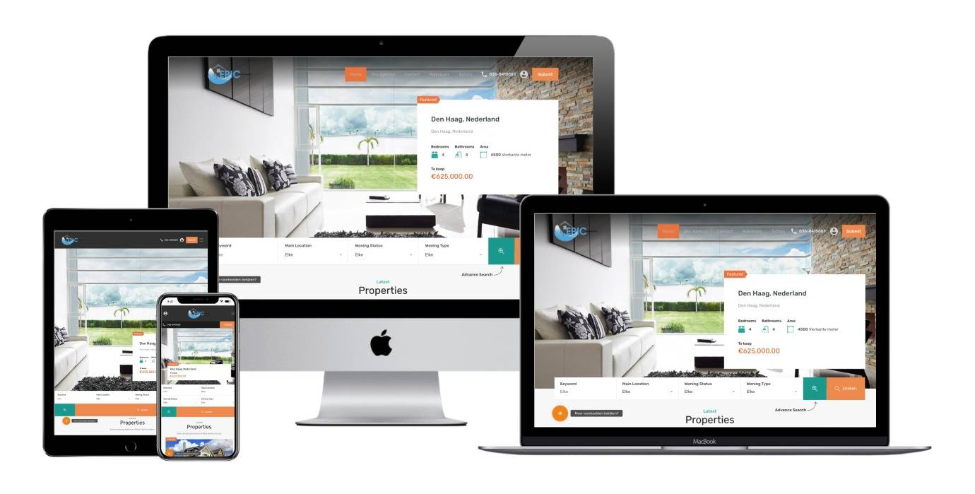 Makelaars Laten Website Maken Met Geavanceerd Zoeken