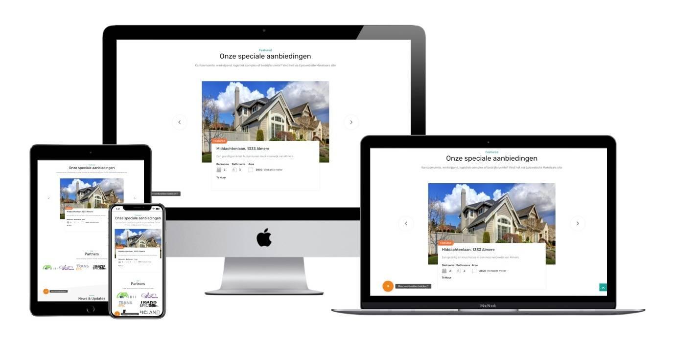 Volledig Customizable Website Maken