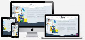 website laten maken voor schoonmaakbedrijf