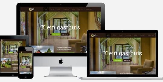 website maken voor vakantiehuis