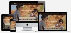 wordpress website maken voor vakantiewoning