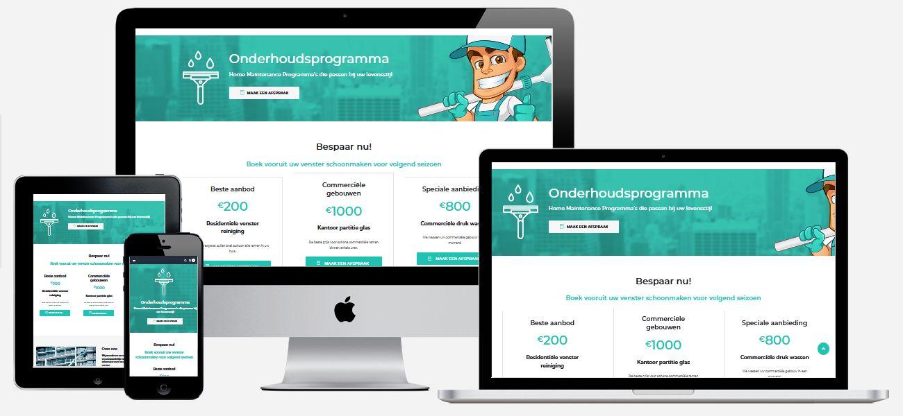 Een optimaal werkende website