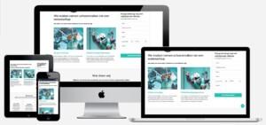 Website voor glazenwasser