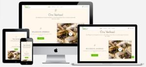 webwinkel voor biologische producten maken