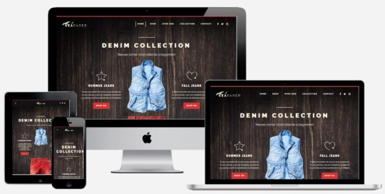 Jeans webshop laten maken