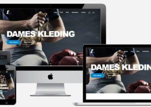 Sport webshop laten maken