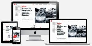 auto styling webshop maken