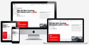 auto tuning website maken
