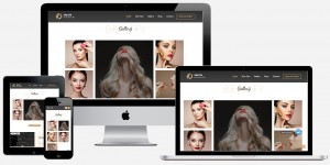 beauty website maker