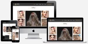 beauty website maker