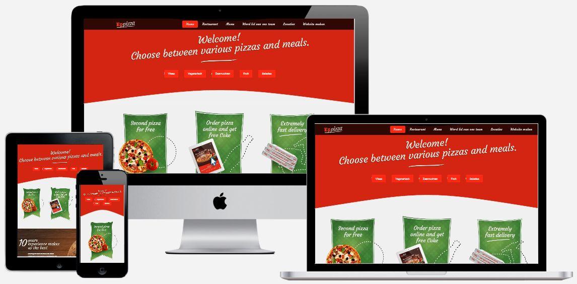 Een horeca website laten maken door Epicwebsite?