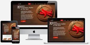 pizzeria website maken