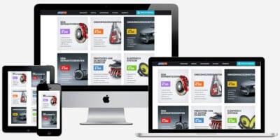 website autobedrijf laten bouwen