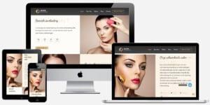 website bouwen schoonheidssalon