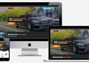 website laten maken voor taxi