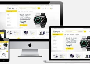 Elektronica webwinkel laten maken