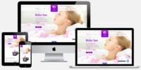 Website voor Massagesalon