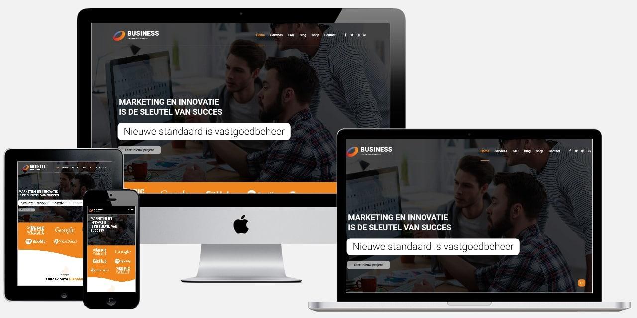 professionele website laten maken