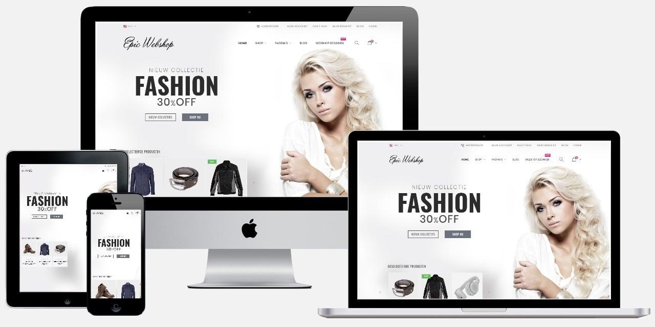 Fashion webwinkel laten maken