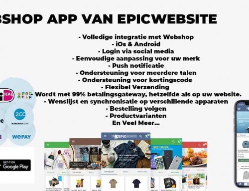 Webshop App Laten Maken