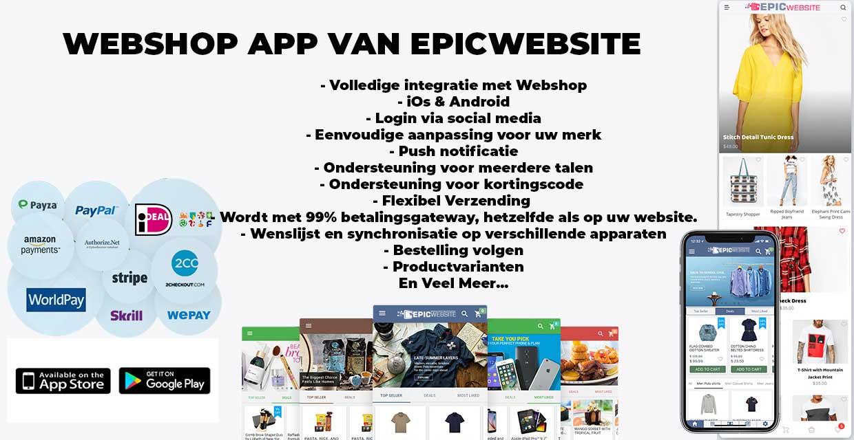 webshop-app-laten-maken