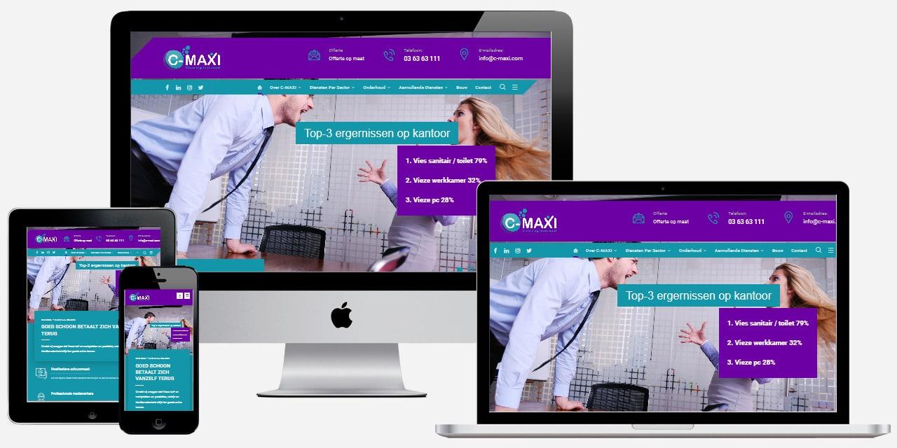 Professionele schoonmaak website laten maken
